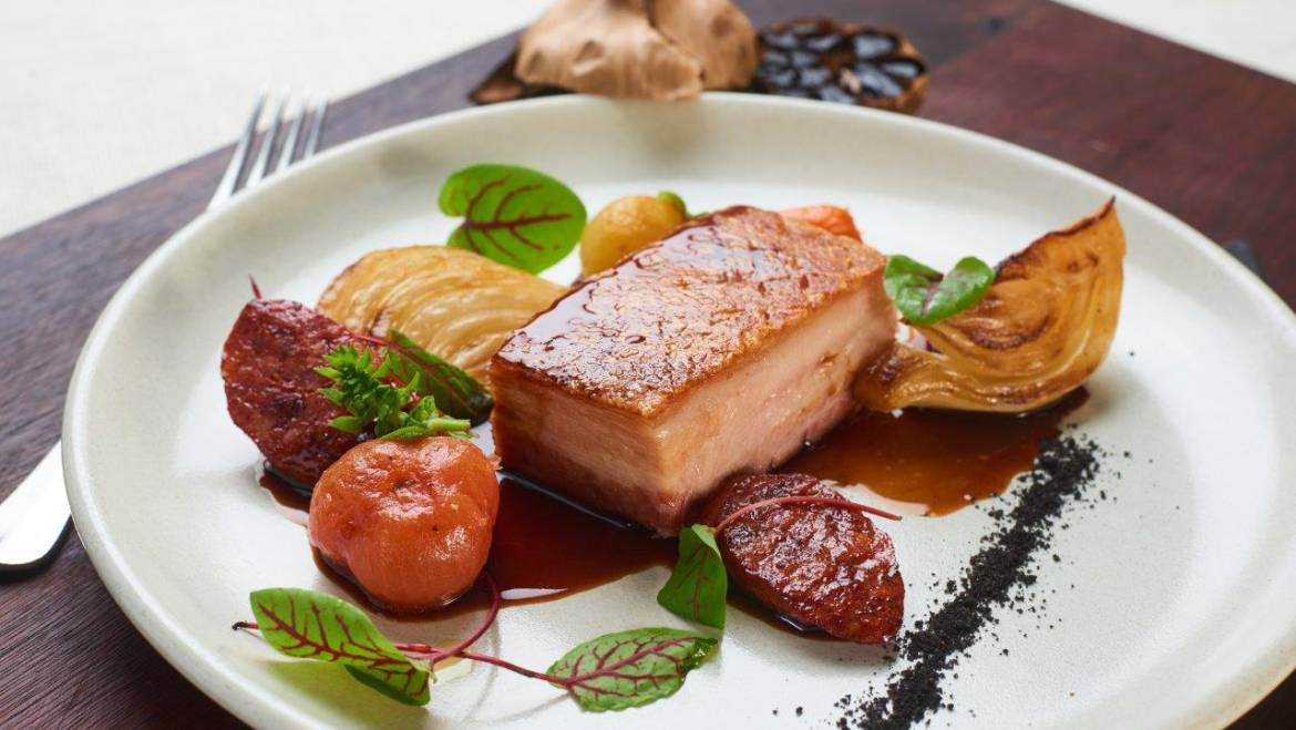 Roasted Pork Belly